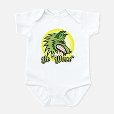 "Be ""Were"" Green Infant Bodysuit"