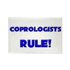 Coprologists Rule! Rectangle Magnet