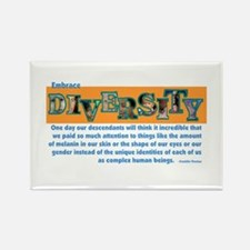 Diversity Rectangle Magnet (100 pack)