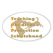 Schutzhund is TOPS Decal