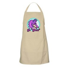 "Be ""Were"" Purple BBQ Apron"