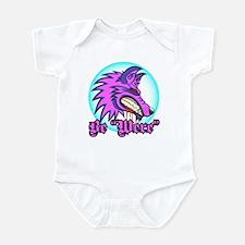"Be ""Were"" Purple Infant Bodysuit"
