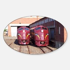 PRR E8a's 5711 & 5809 Oval Decal