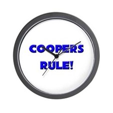 Coopers Rule! Wall Clock