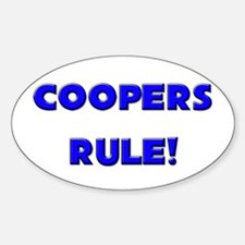 Coopers Rule! Oval Decal