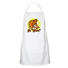"Be ""Were"" Orange BBQ Apron"