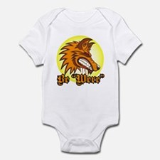 "Be ""Were"" Orange Infant Bodysuit"