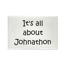 Funny Johnathon name Rectangle Magnet