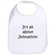 Funny Johnathon name Bib