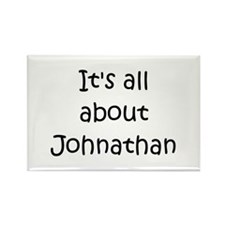 Funny Johnathan Rectangle Magnet