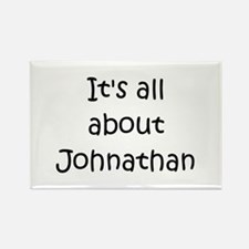 Cute Johnathan name Rectangle Magnet