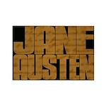 Austen Manuscript Rectangle Magnet