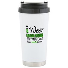 I Wear Lime Green For Dad Travel Mug