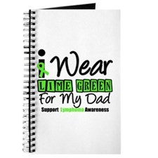 I Wear Lime Green For Dad Journal