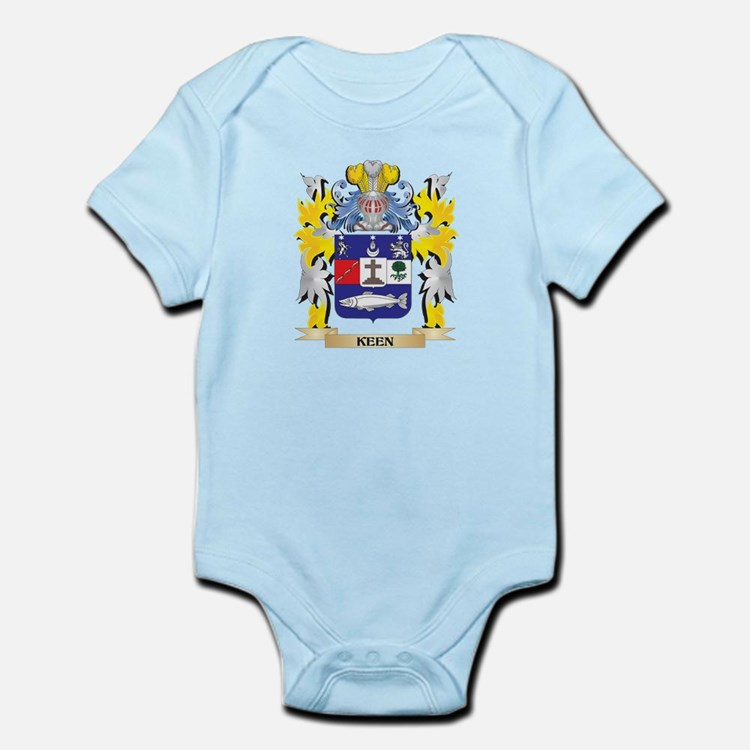 Keen Coat of Arms - Family Crest Body Suit