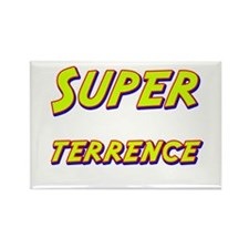 Super terrence Rectangle Magnet