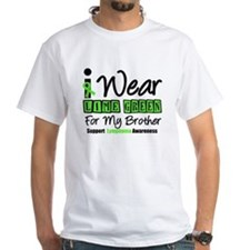 I Wear Lime Green For My Brother Shirt