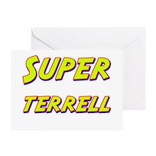 Super terrell Greeting Card