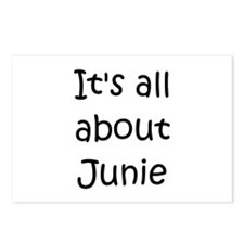 Funny Junie Postcards (Package of 8)