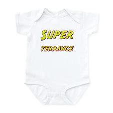 Super terrance Infant Bodysuit