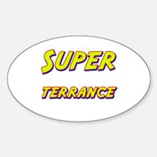 Super terrance Oval Decal