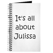 Funny Julissa Journal