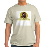 Jokester Jesus Ash Grey T-Shirt