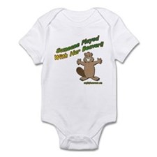 Someone Played With Her Beave Infant Bodysuit