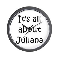 Cute Juliana Wall Clock