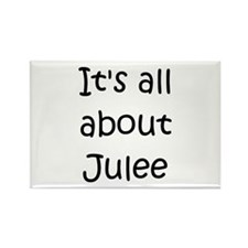 Jules name Rectangle Magnet