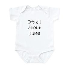 Jules name Infant Bodysuit