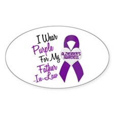 I Wear Purple For My Father-In-Law 18 (AD) Decal