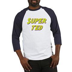 Super ted Baseball Jersey