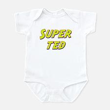 Super ted Onesie