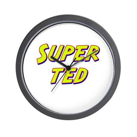 Super ted Wall Clock