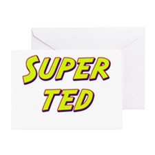 Super ted Greeting Card