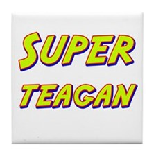 Super teagan Tile Coaster