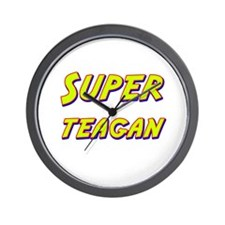 Super teagan Wall Clock