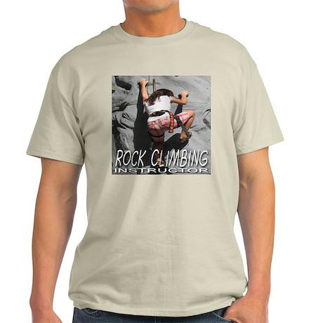 Rock Climbing Instructor Light T-Shirt