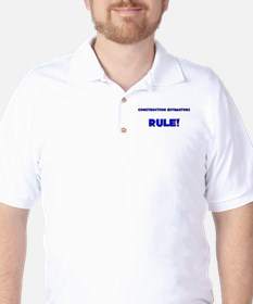 Construction Estimators Rule! T-Shirt