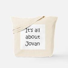Cute Jovan Tote Bag