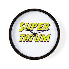 Super tatum Wall Clock