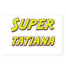 Super tatiana Postcards (Package of 8)