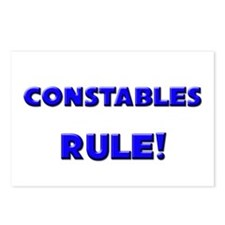 Constables Rule! Postcards (Package of 8)