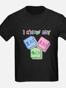 I Know My ABC T