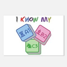 I Know My ABC Postcards (Package of 8)
