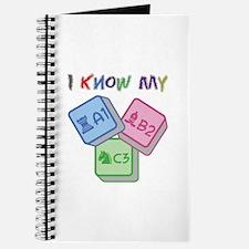 I Know My ABC Journal