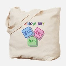 I Know My ABC Tote Bag