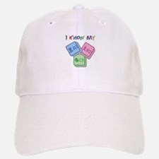 I Know My ABC Baseball Baseball Cap
