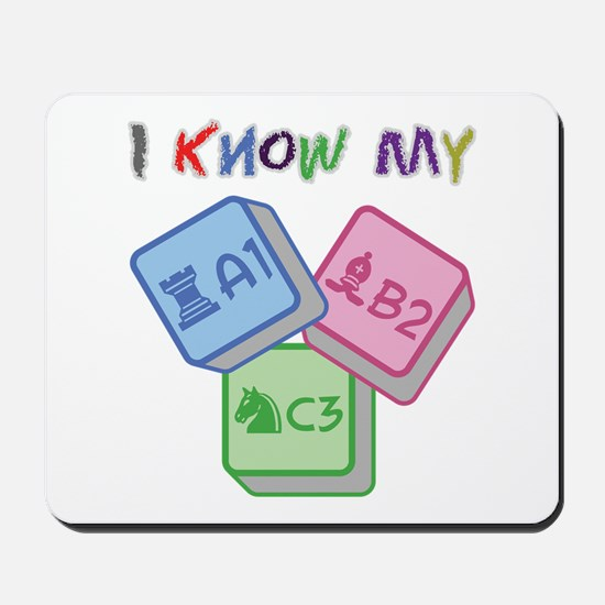I Know My ABC Mousepad
